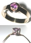 14 kt Gold & Maine Amethyst Ring